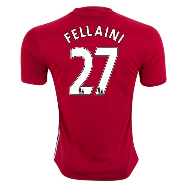 adidas Fellaini Manchester United Home Soccer Jersey 16/17