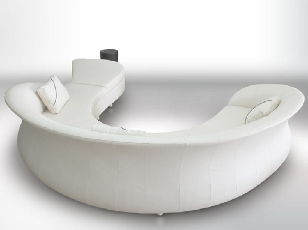 Curved Sofas Leather Corner Uk