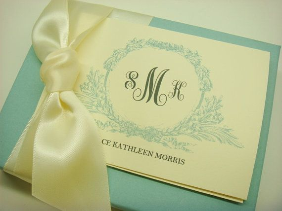 These are SO  cute! my new FAVORITE! Stationery Gift Set Elegant by inkpartyemporium, $14.00