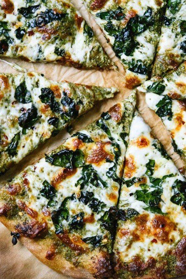 15 saubere Pizza-Rezepte, die viel weniger gesund schmecken als sie sind - Diät Blog #cleaneating