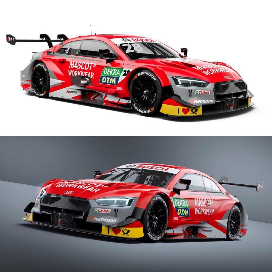 Red Is The New Black Audisport Presents Loicduval S New Livery For 2019 Dtm Dtm2019 Loicduval Duv28 Wel Mobil Balap Pembalap Mobil