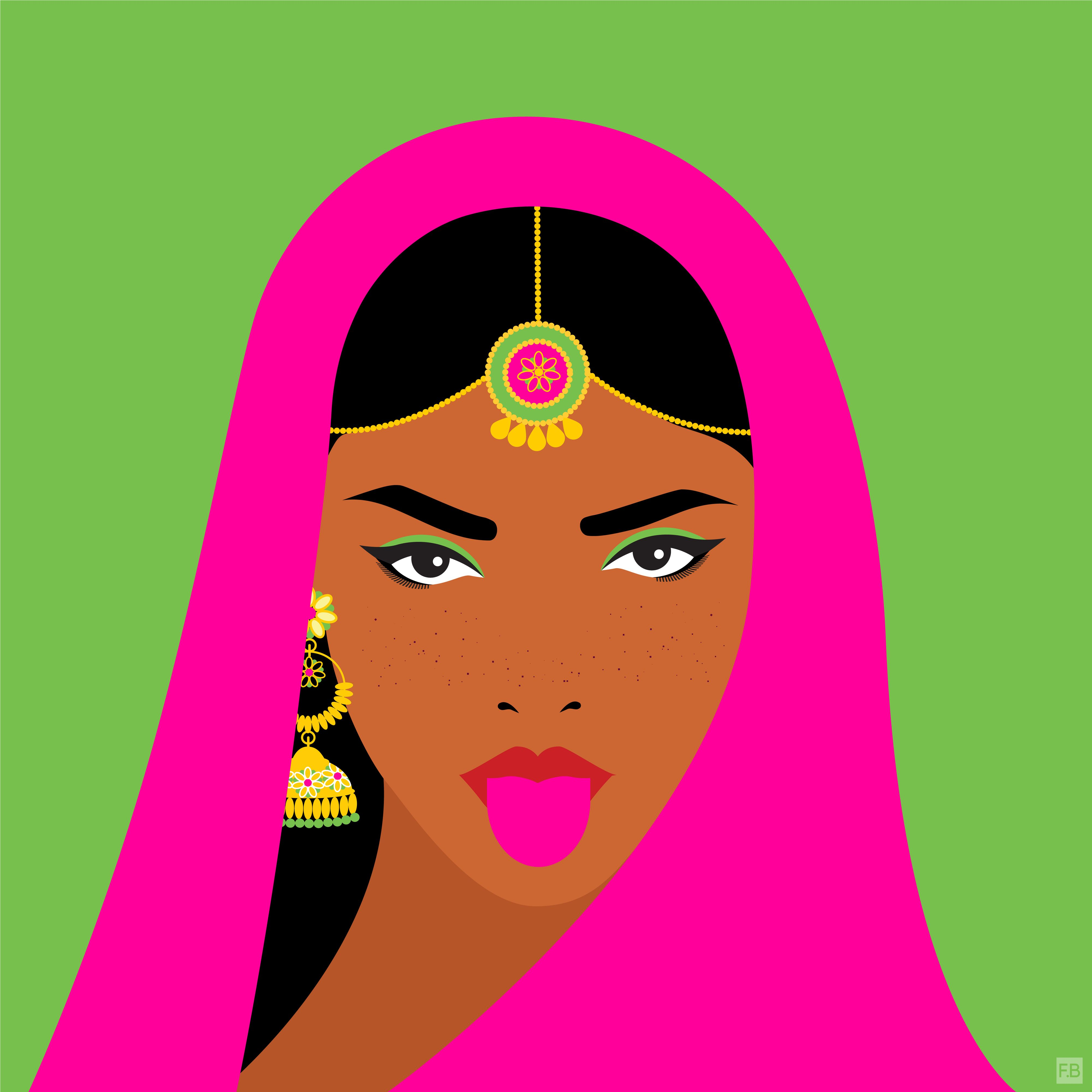 The beauty of diversity by Fatemah Baig ⋆ L'Eclectique -   13 beauty Icon art ideas