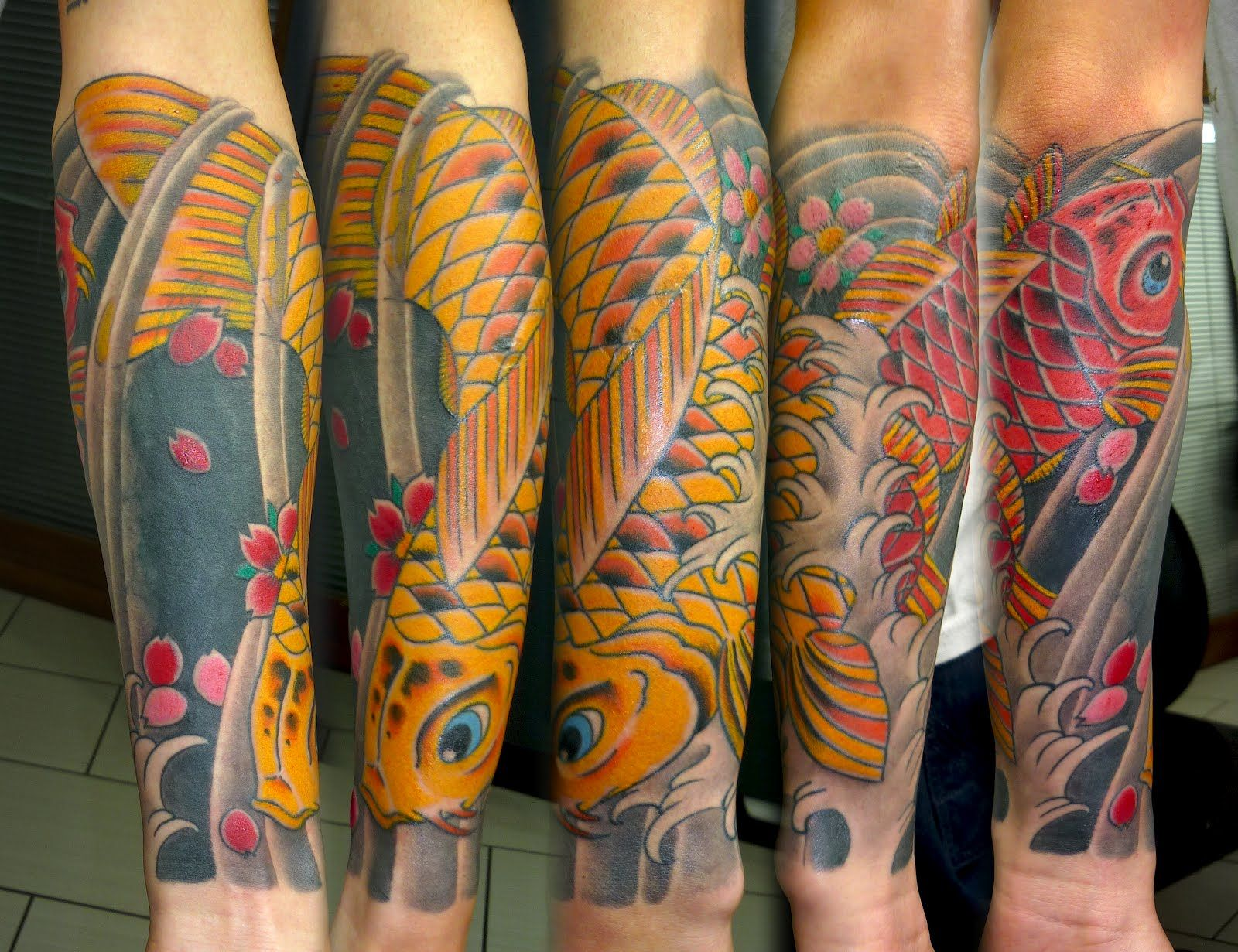 Koi Fish Forearm Tattoo Design Tattoobite Com Forearm Tattoos Tattoos For Guys Koi Fish Tattoo