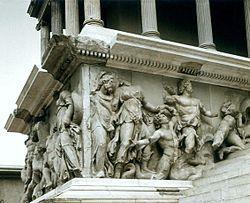 Pergamonmuseum Pergamon Statue Greek Statue