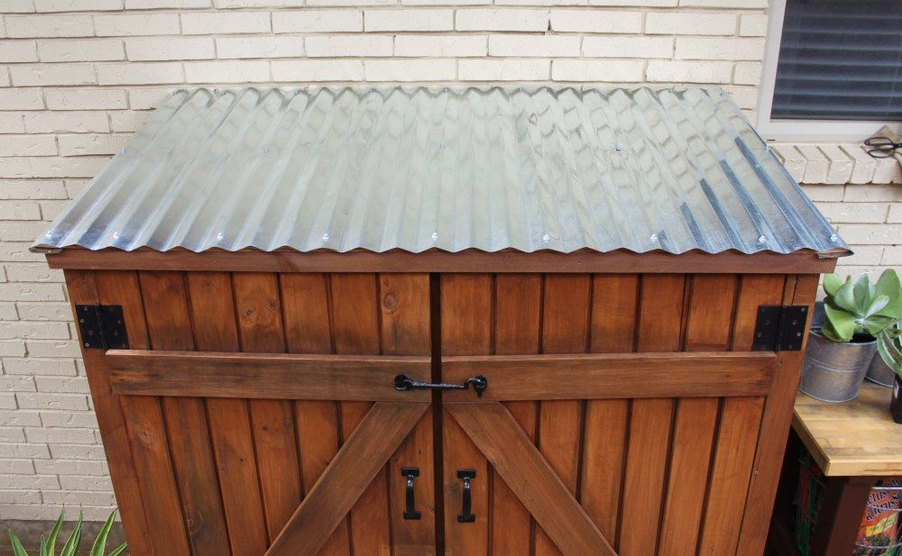 The Cavender Diary Galvanized Roofing Roof Panels Contemporary Patio