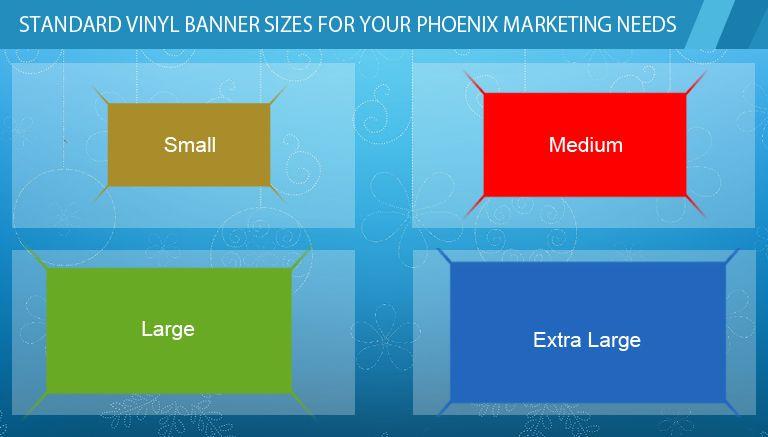 Standard Vinyl Banner Sizes For Your Phoenix Marketing Needs Banner Sizes Vinyl Banners Banner Ad Sizes