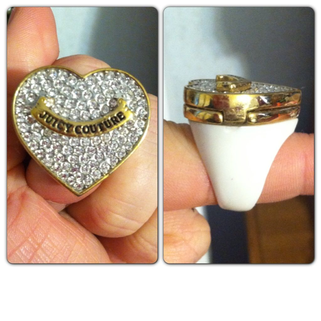 Juicy Couture ring! SUPER RARE! Valued at $68