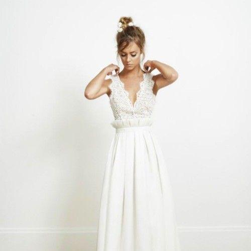 Marcas francesas de vestidos de novia