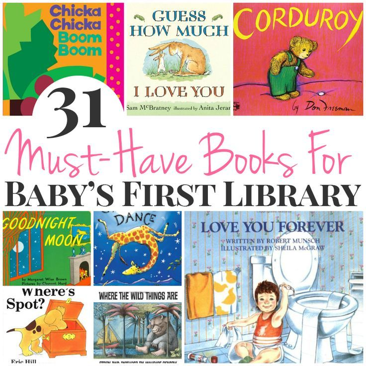 31 Must-Have Books For Babyu0027s First Library Babies - baby registry checklists