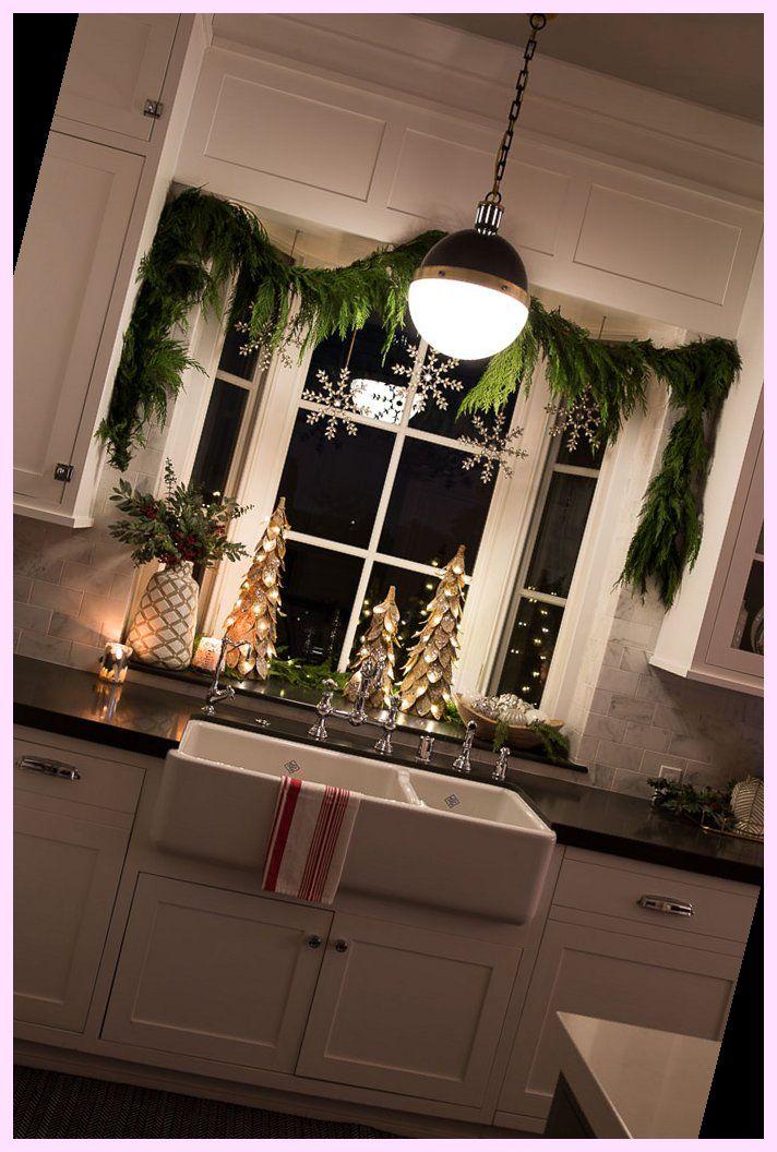 Photo of 13+ Kitchen Window and Powder Bathroom Christmas Decor | Farmhouse Christmas Decor Diy | 2020