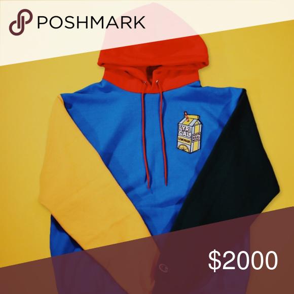 Lyrical lemonade multicolored hoodie (VERY RARE