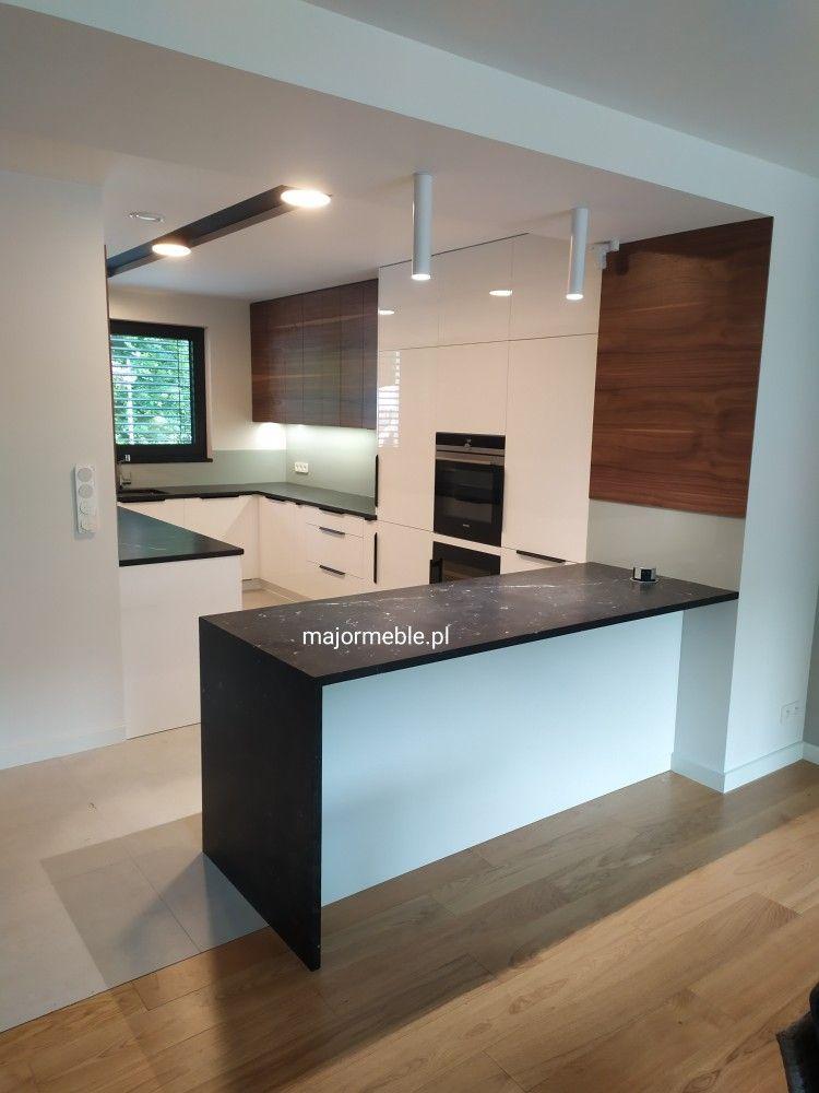 Major Meble Kuchnia Fornir Blaty Kamienne Lakier Polysk Modern Kitchen Kitchen Home Decor