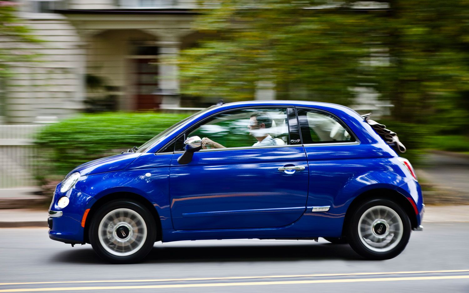 Fiat 5001 Blue Wallpaper Cool HD