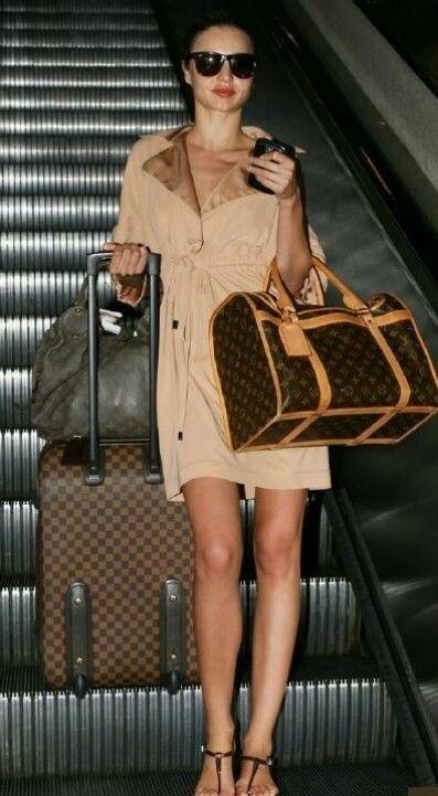 8a1a7dd6d78 Miranda Kerr - Louis Vuitton Lv Luggage