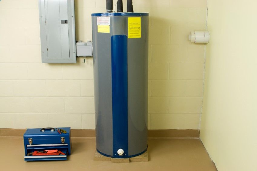 Sediment Builds Up In Your Water Heater Tank Use The Spigot Near The Bottom Of The Heater To Water Heater Installation Electric Water Heater Hot Water Heater