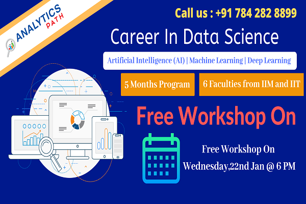 Enroll Free Data Science Workshop at Analytics path in ...