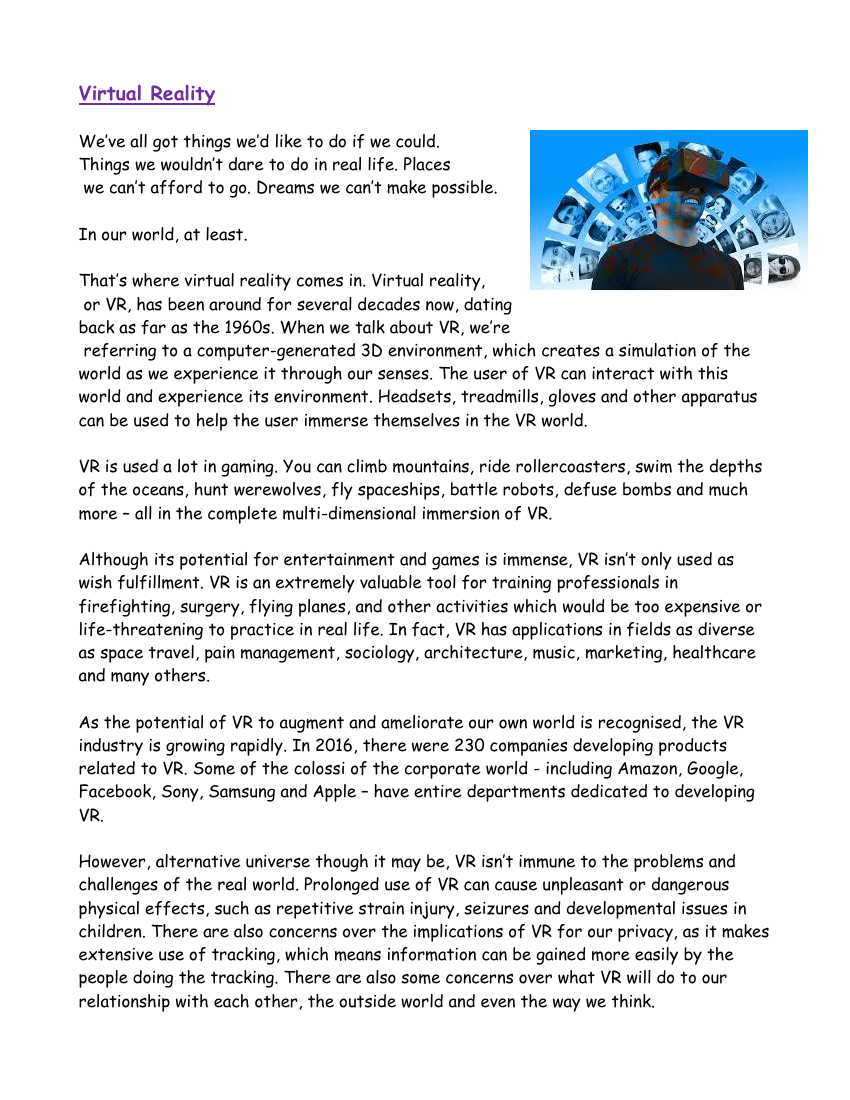 Reading Comprehension Virtual Reality Teaching Resources Virtual Reality Education Virtual Reality Design Virtual Reality Technology [ 1100 x 850 Pixel ]