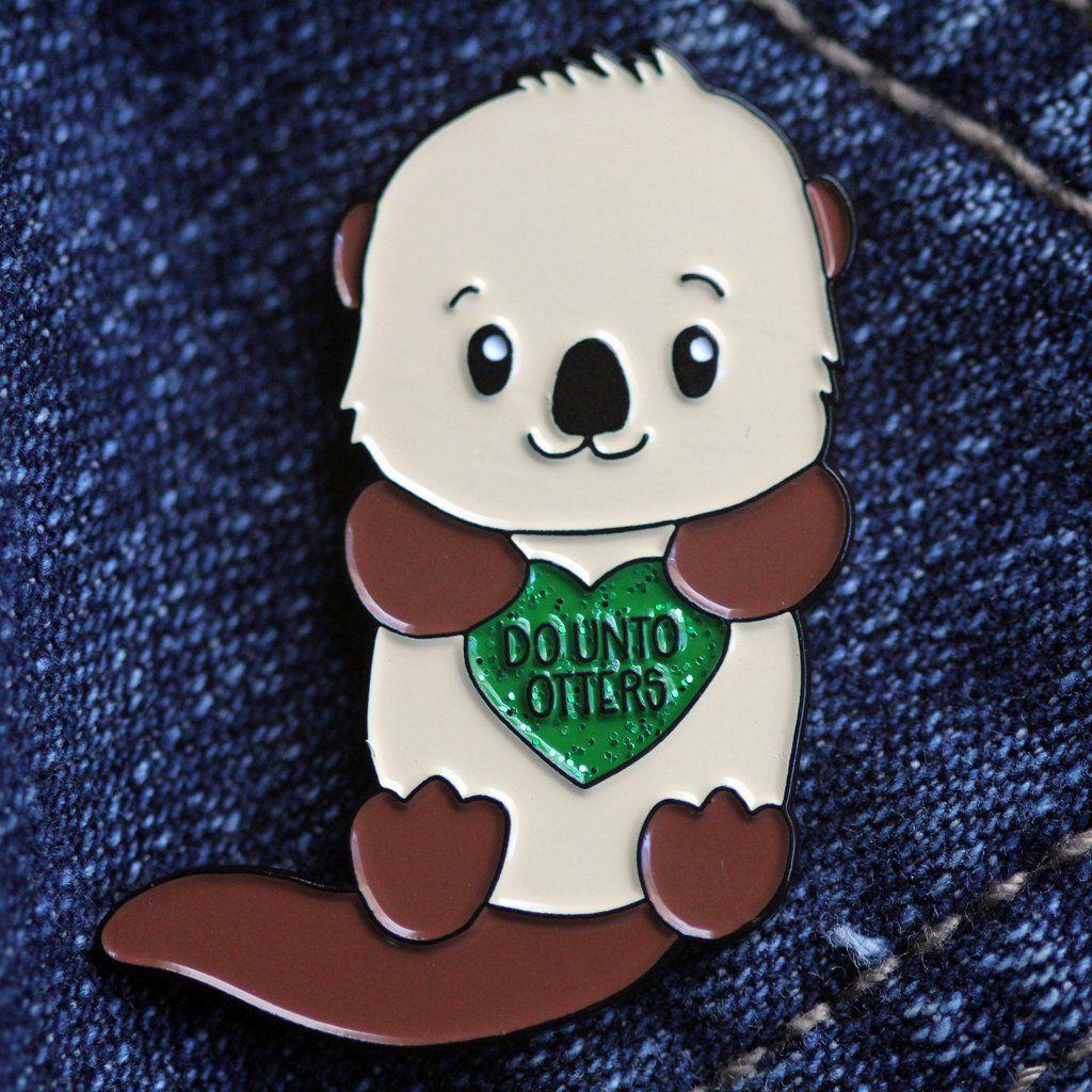 Do Unto Otters Pun Soft Enamel Pin