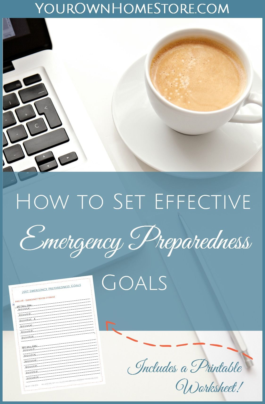 Set Effective Emergency Preparedness Goals Using This