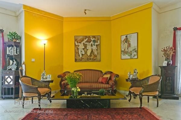 wall paint living room jo21 | Indian home decor | Pinterest | Living ...