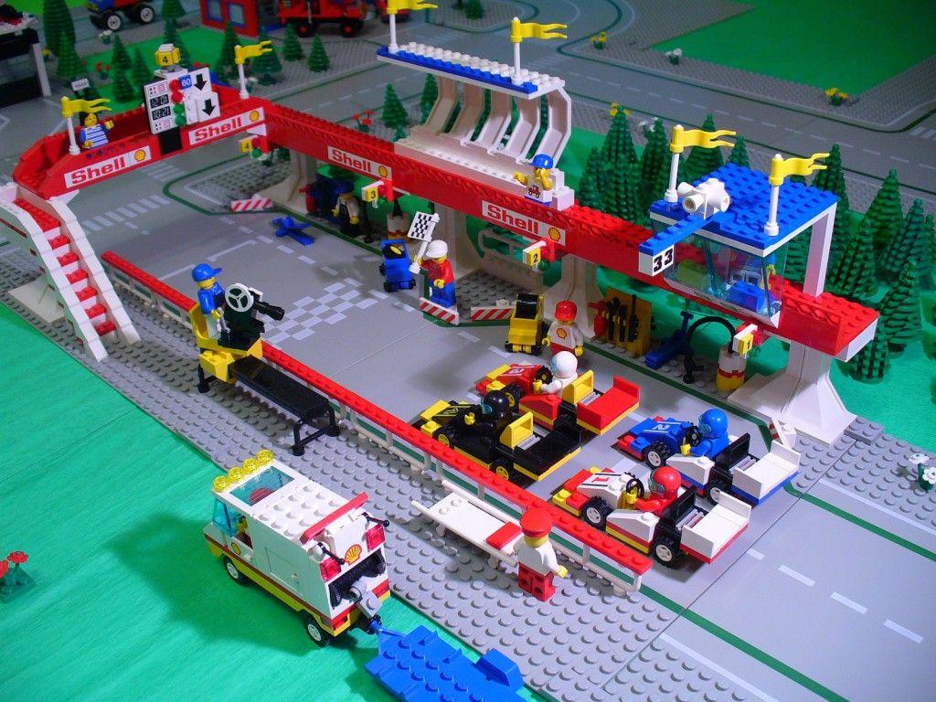 Lego 6395-1, Victory Lap Raceway #lego #legos #classic #review