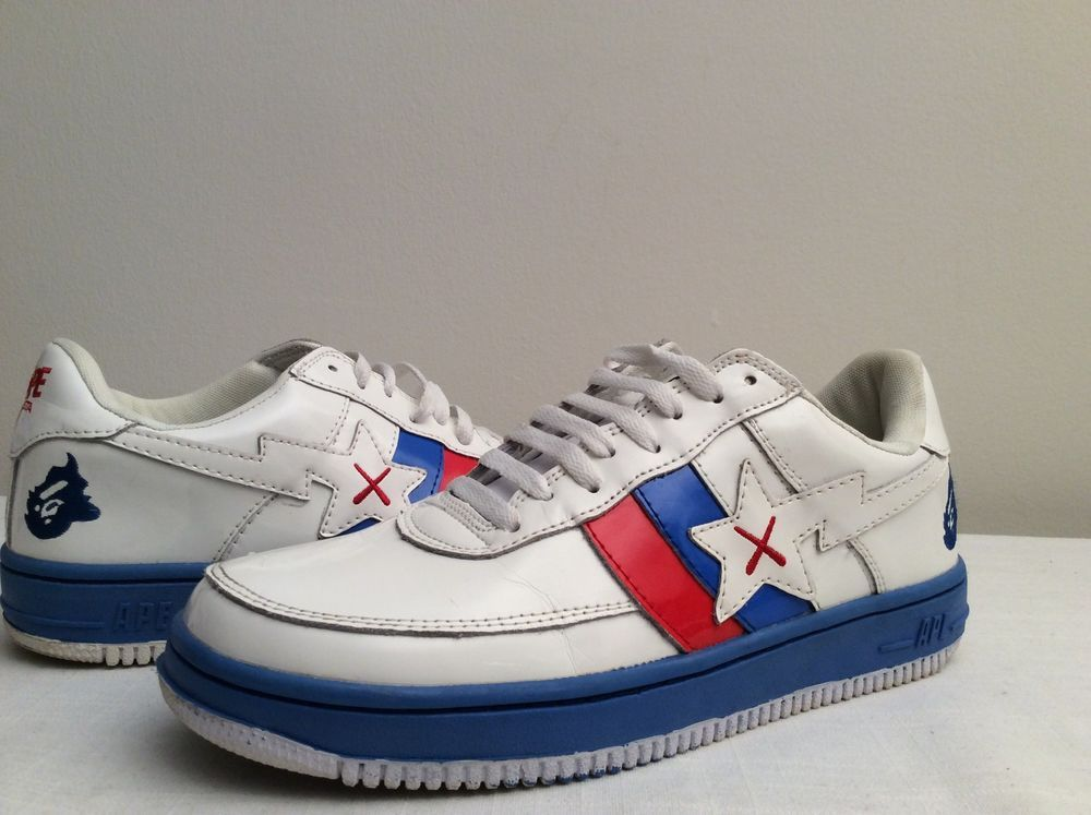5c85c2551485fa FOOT SOLDIER BAPESTA BATHING APE LIMITED EDITION Mens Sneakers Size 10 BAPE   BAPEABathingApe  AthleticSneakers