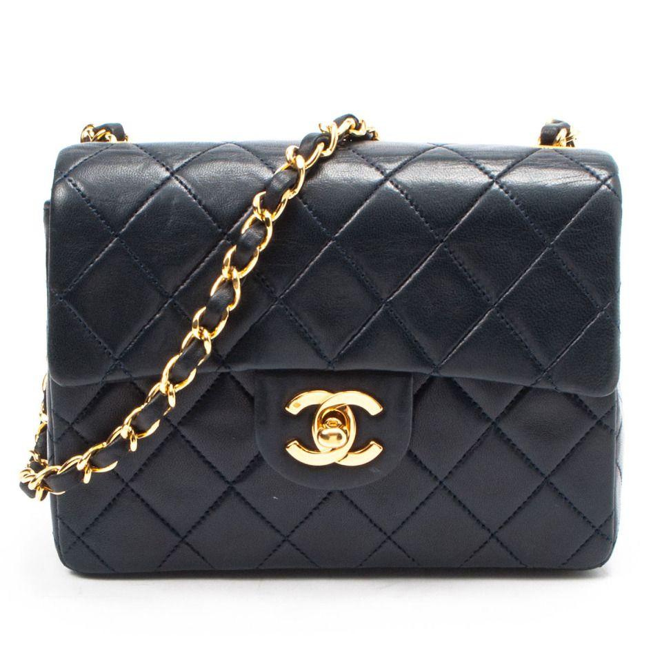 96c0647c7d7068 classic: Chanel Mini Matelasse Chain Shoulder Bag   Chanel   Chanel ...