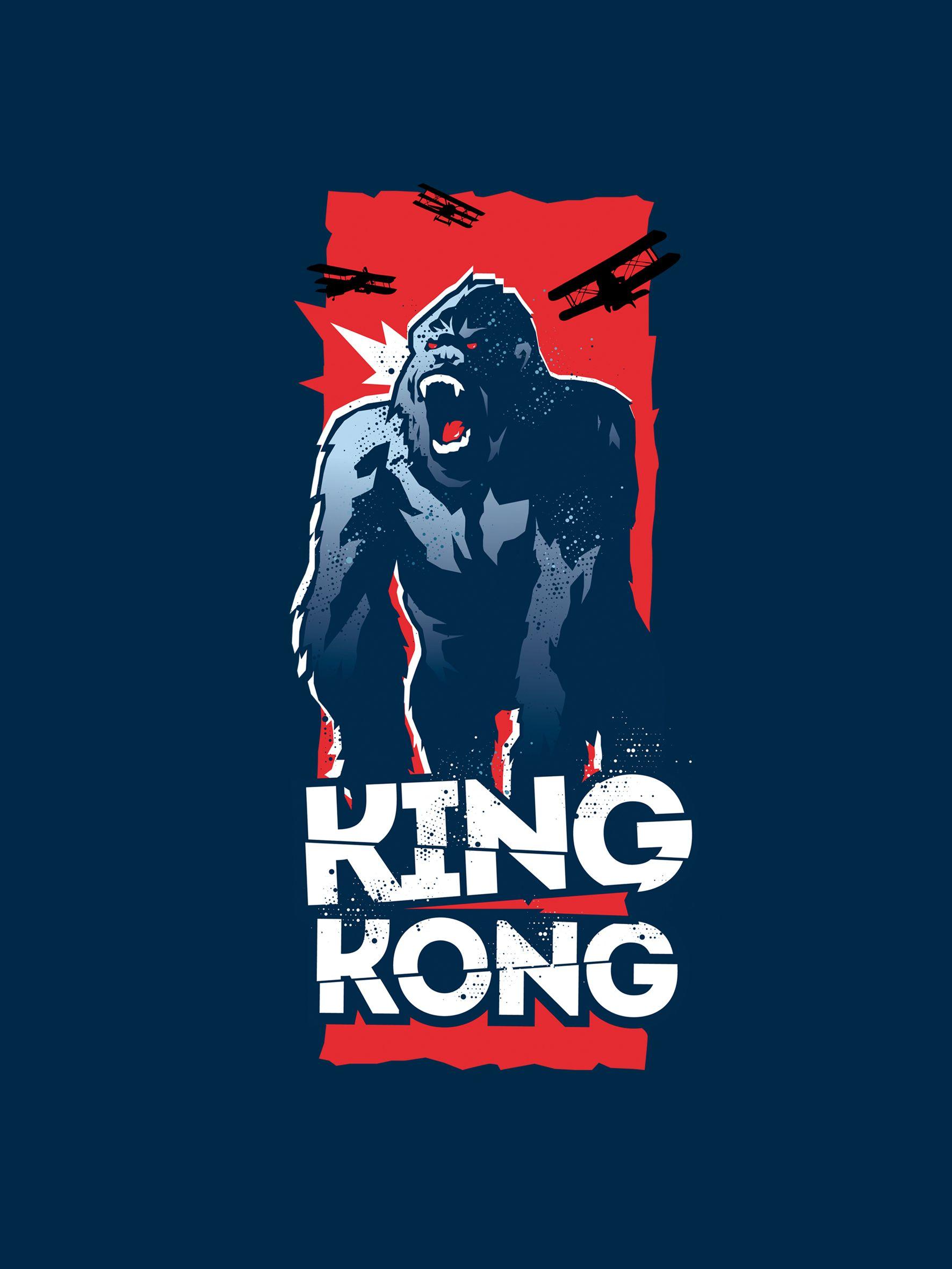 King kong fatso grafix illustration pinterest king kong king and logo design - King kong design ...