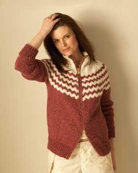 17f459b73 Free Knitting Pattern - Women s Cardigans  Top Down Alpaca Cardigan ...