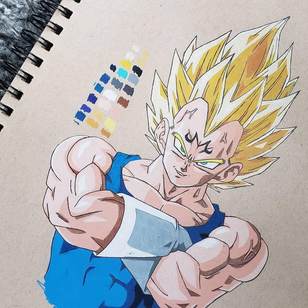 Its super vegeta 🔥 . . . #dbz #princeofsaiyans #vegeta #majinvegeta #buusaga #supersaiyan2 #dragonball #dragonballz #amine #aminefan #arts_help #otaku #animeart #worldofpencils #prismacolorpencils #art_4share #strathmoretonedtan #goku #manga #dragonballsuper #artistic_unity  #worldofnerdart #worldofartists #slikk1_art_motivation