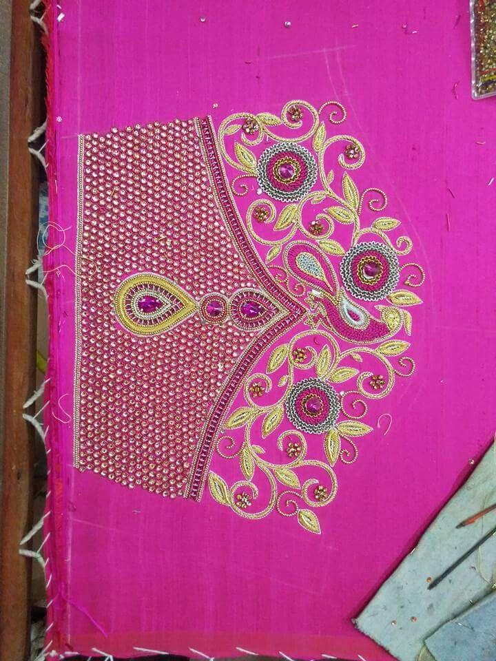 Pin de ssharadh jadhav en Blouse designs   Pinterest   Taller de ...