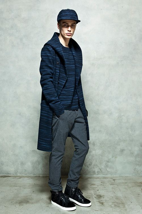 Best 6 Winter Streetwear Outfit Combinations: Marc Schulze For Kazuyuki Kumagai FW14 ️