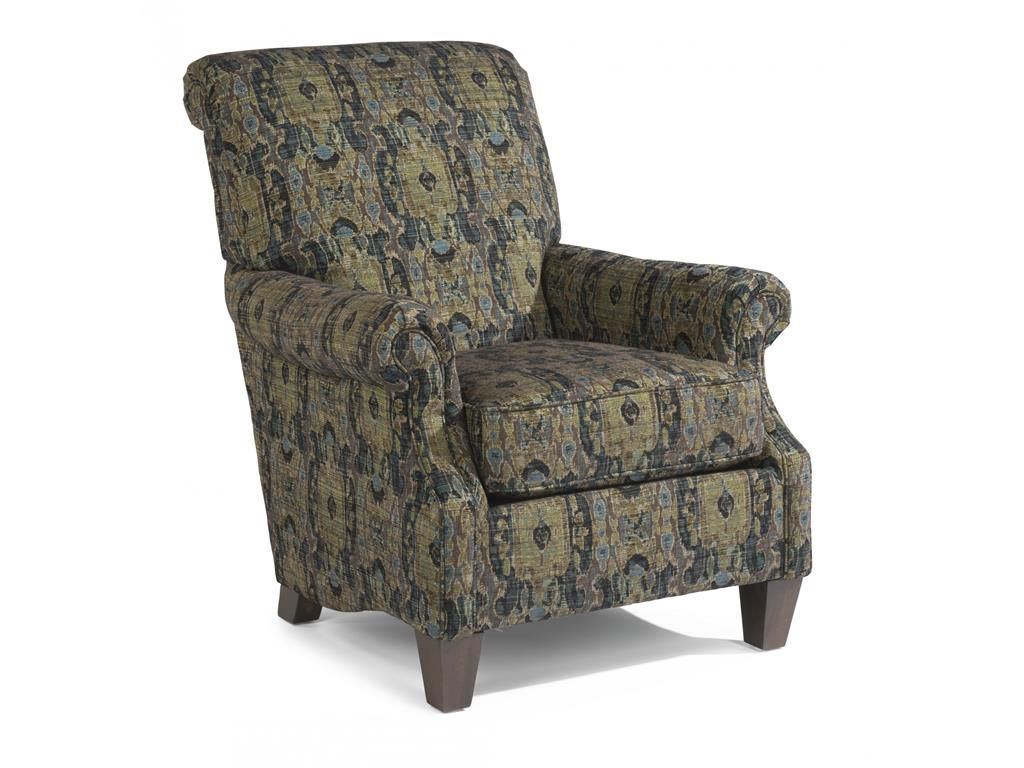 Lovely Flexsteel Living Room Fabric Chair 086C 10   Blackledge Furniture    Corvallis, OR