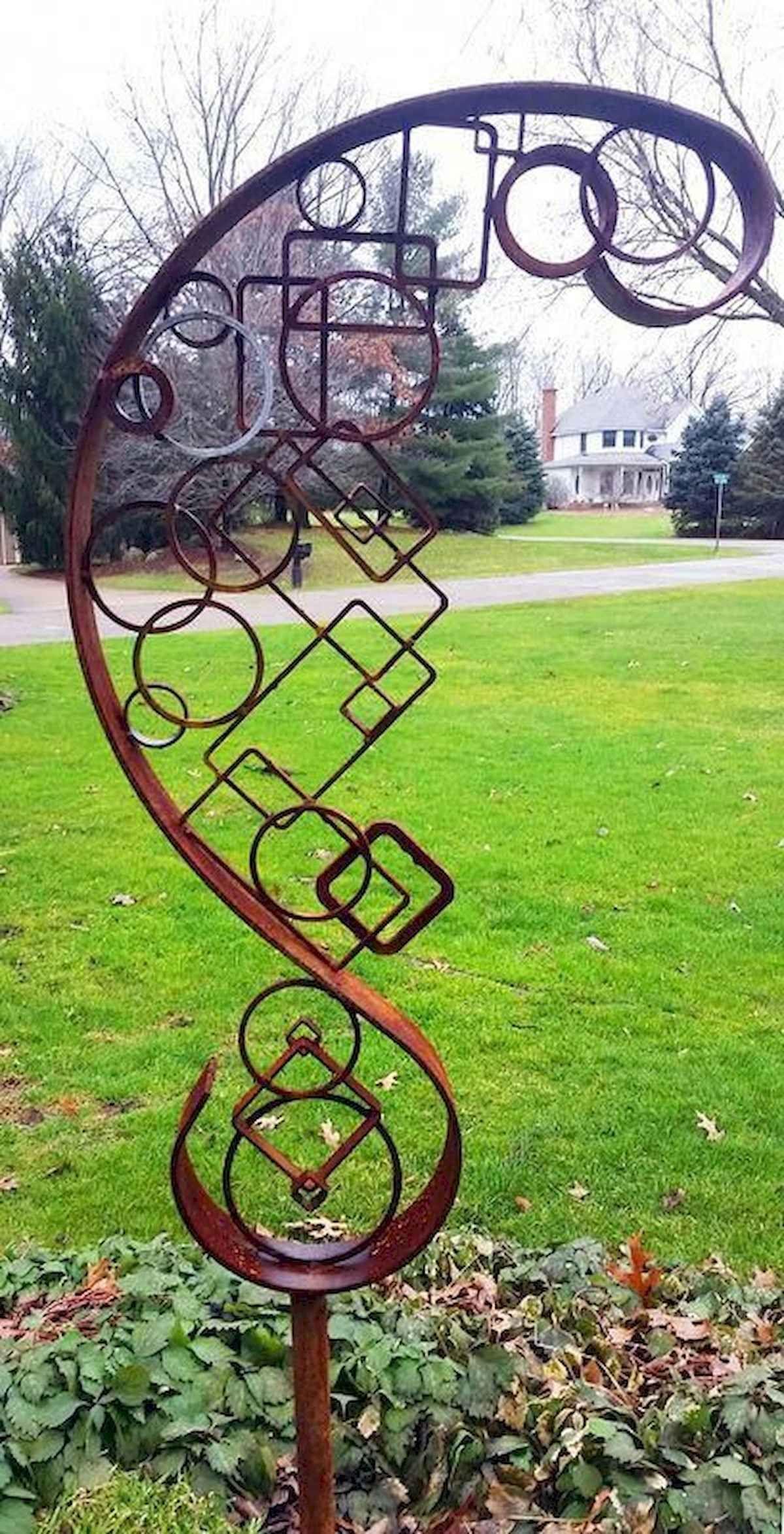Awesome 70 Best Metal Garden Art Design Ideas For Summer Https Livingmarch Com 70 Best Metal Garden A Metal Garden Art Metal Art Projects Metal Tree Wall Art