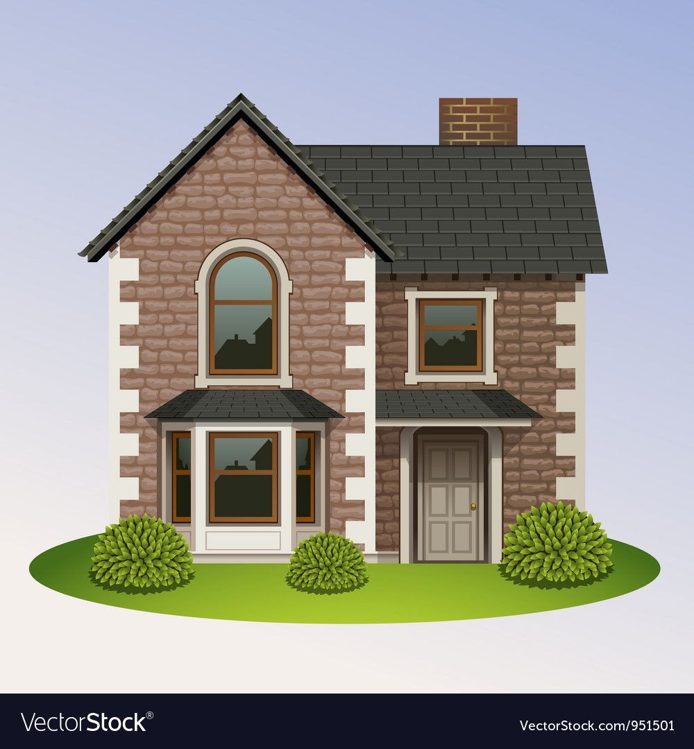 Home Icon 4 Vector Image On Vectorstock Home Icon House Cartoon House