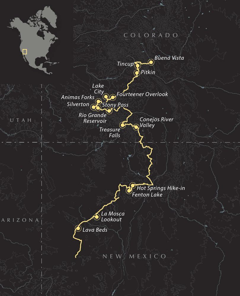 Overland Routes   New Mexico and the Continental Divide – Expedition