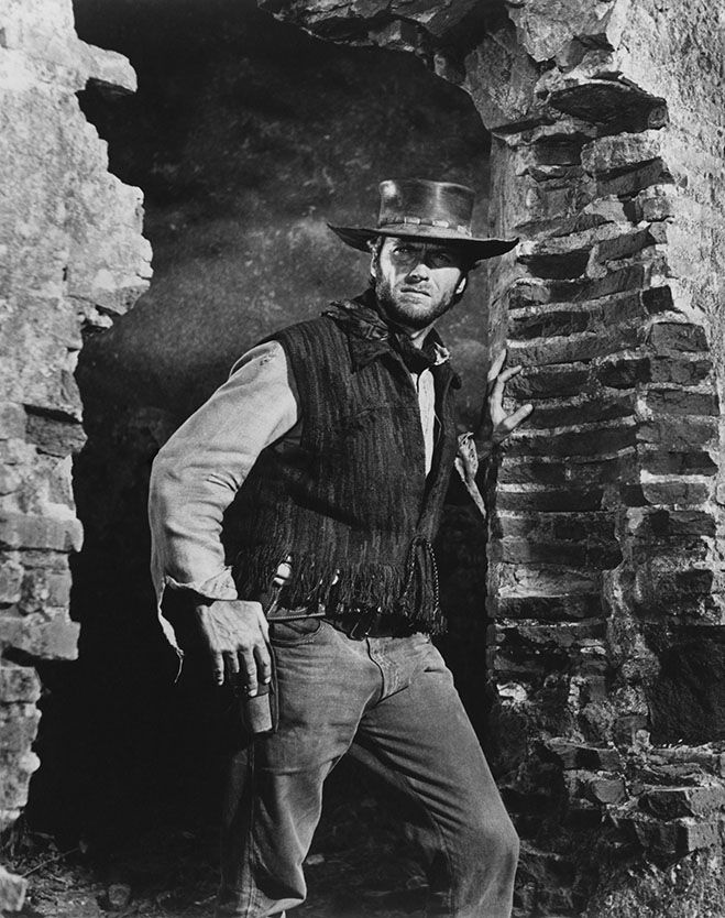 Clint Eastwood Two Mules For Sister Sara 1970 Actriz De Cine