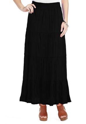 b2a8a179f Cato Fashions Crinkle Peasant Maxi Skirt - Plus #CatoFashions  #CatoSummerStyle