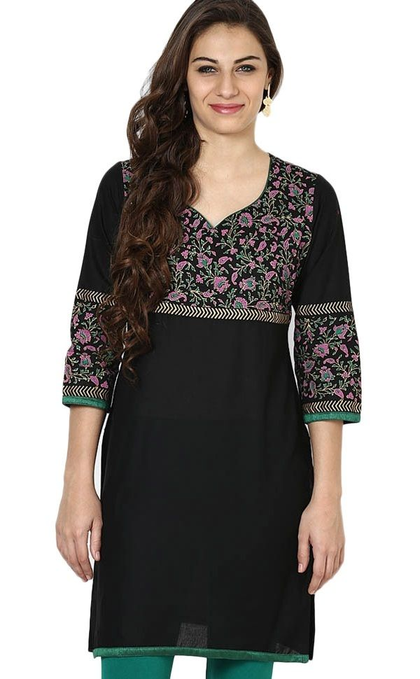 Different Types of Necklines to Try in your Kurtis ...
