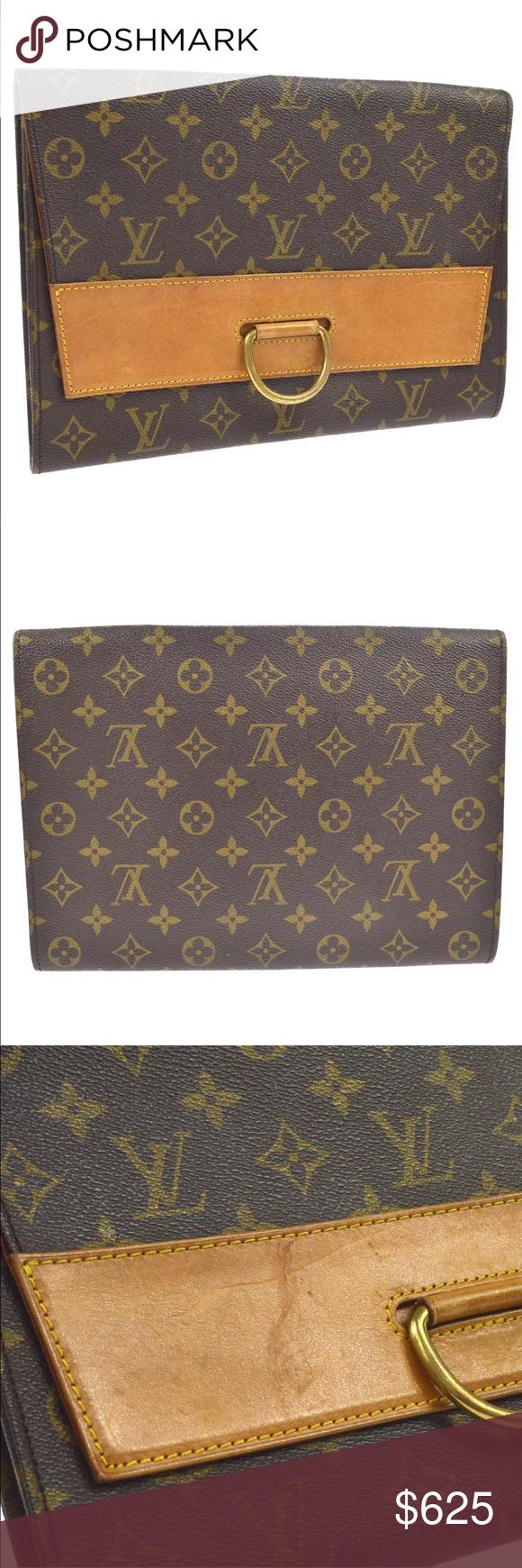 Authentic Louis Vuitton Iena Monogram Clutch Louis Vuitton Monogram Clutch Authentic Louis Vuitton