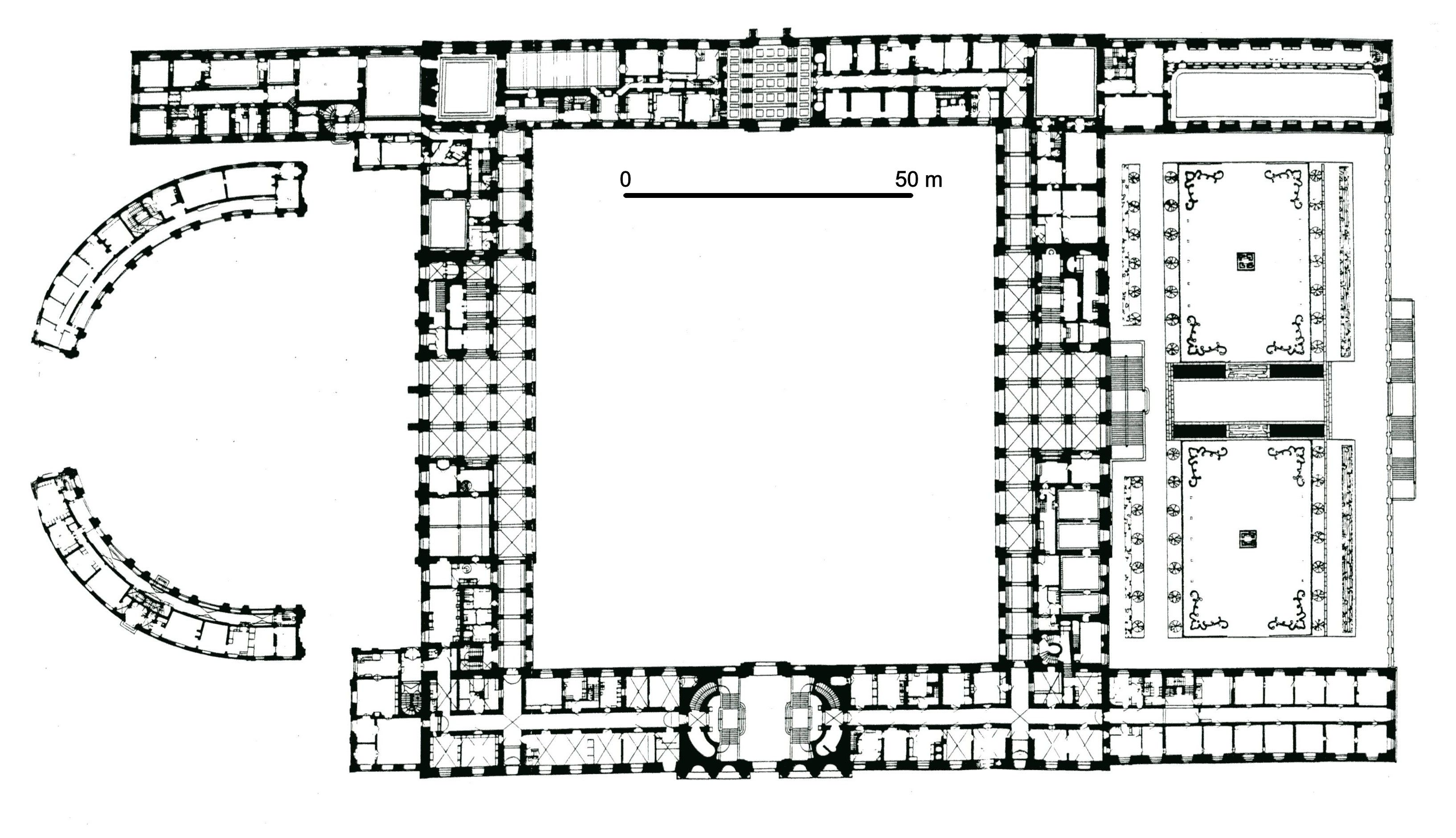 chatsworth floor plan groundfloor castles and palaces