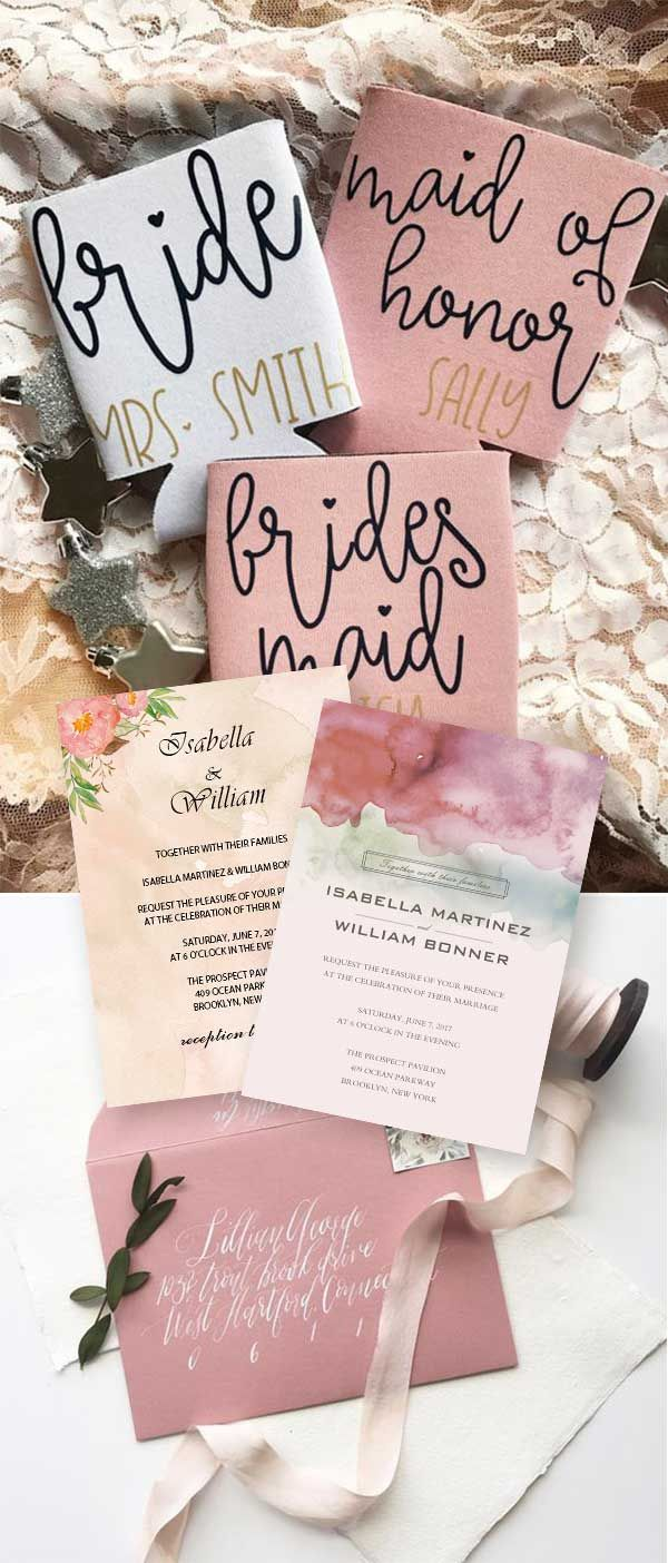 GLAMOROUS RUSTIC FALL WEDDING COLOR PALETTES: ROSE PINK INCORPORATED ...