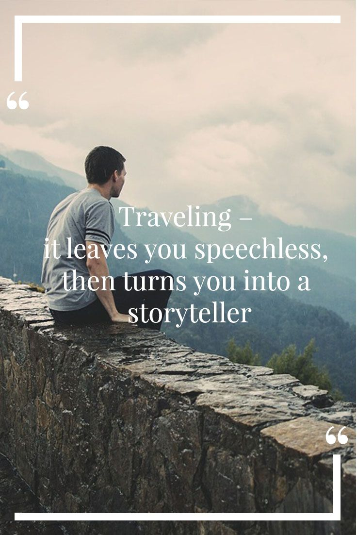 This travel quote is by the Moroccan traveler, Ibn Battuta ...