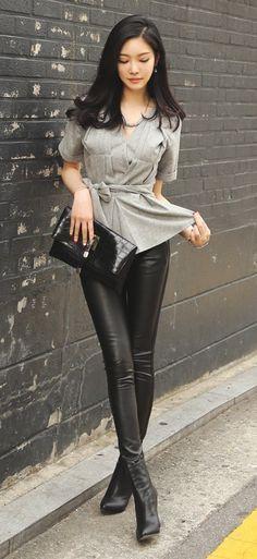 Luxe Asian Women Design Korean Model Fashion Style Top Wear Me Pour La Femme Pinterest