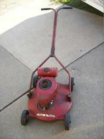 Pin On Vintage Mowers