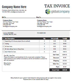 A StepProcess To Create Your Invoice Within Few Minutes All
