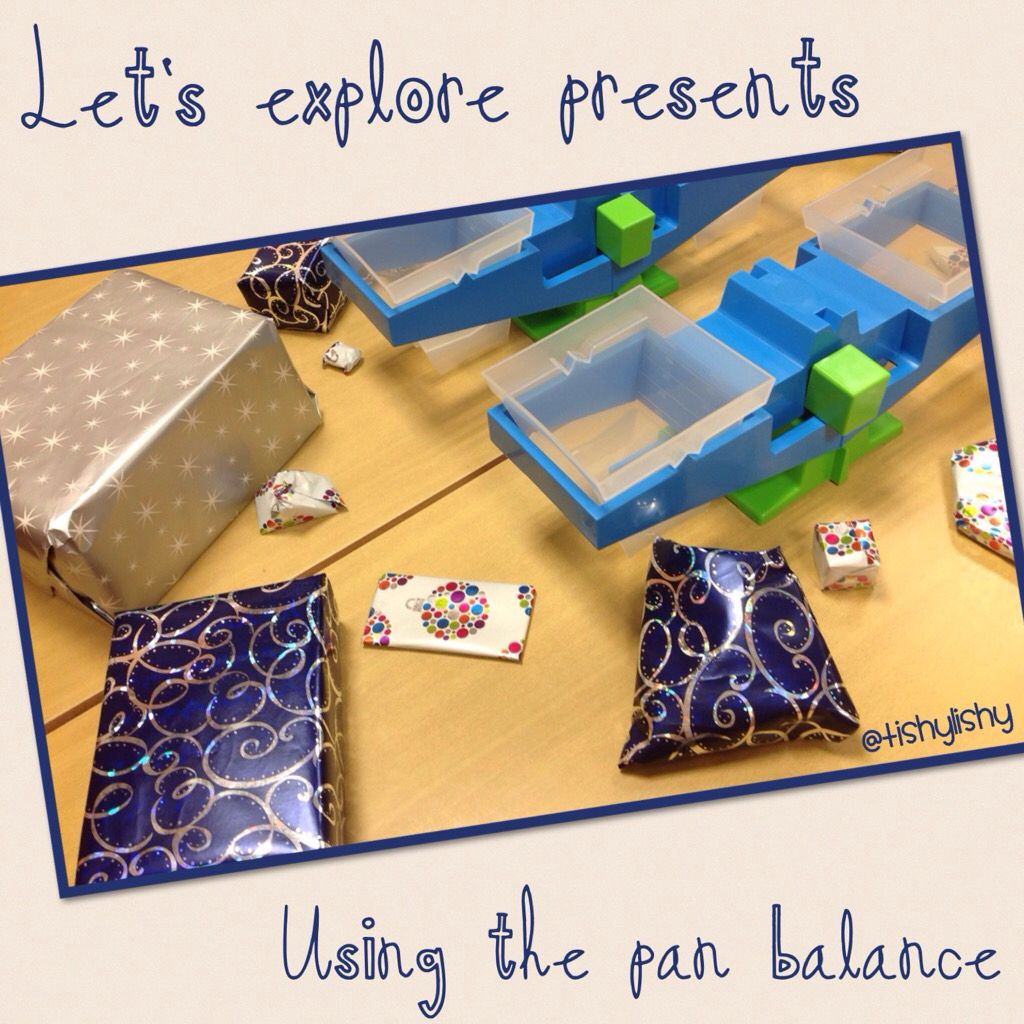 Weighing Presents With The Pan Balance