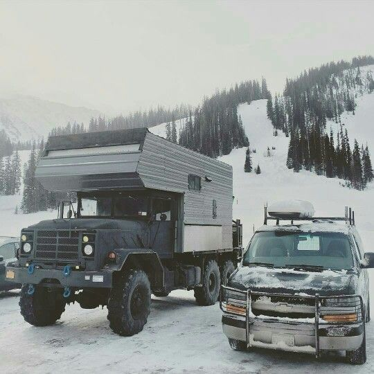 6x6 RV and conversion van | cool things | Hunting truck