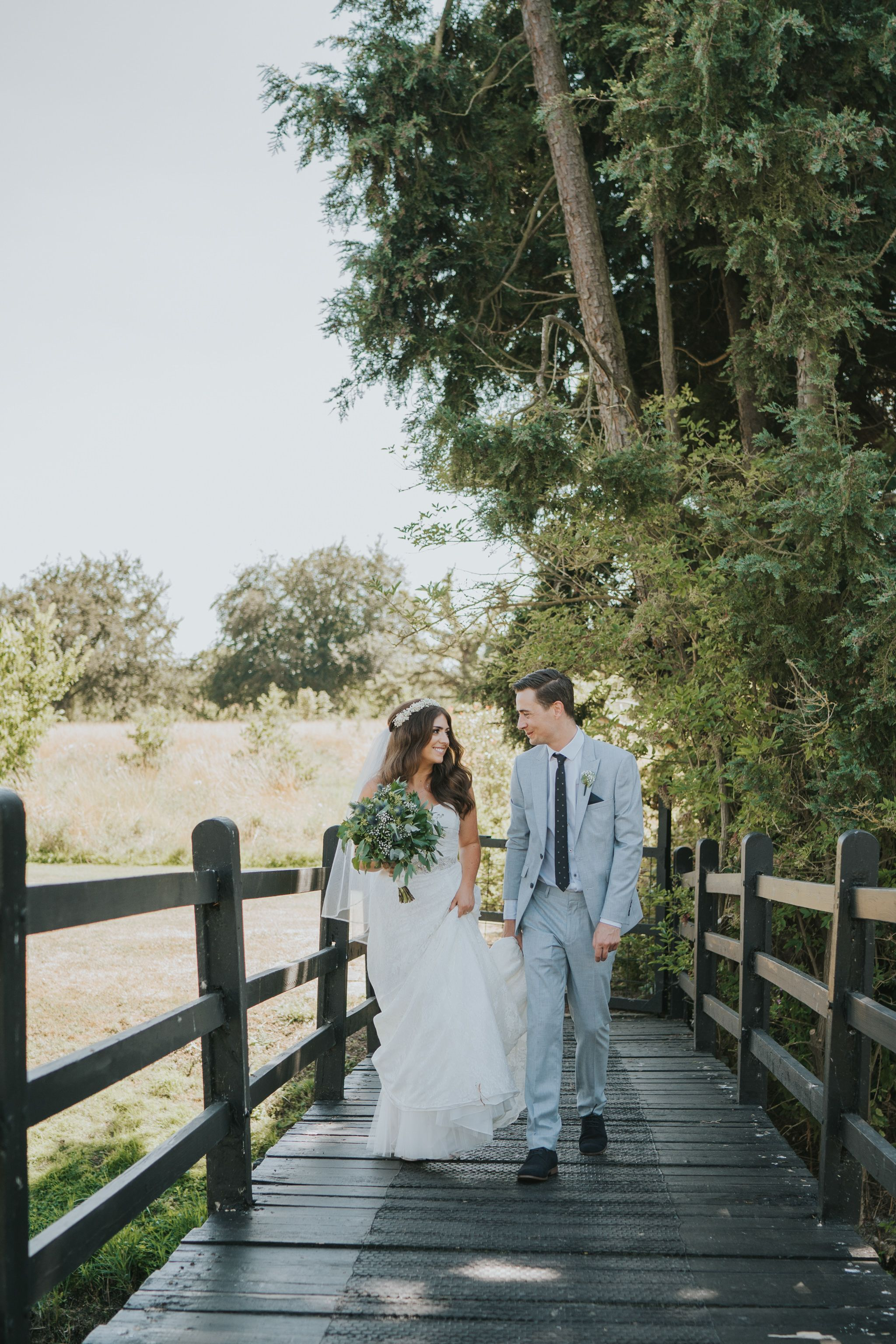 Relaxed outdoor boho diy wedding day at prested hall essex wedding