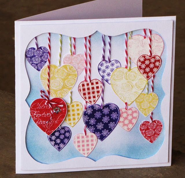 Handmade With Love Greeting Cards Handmade Valentines Cards Card Factory